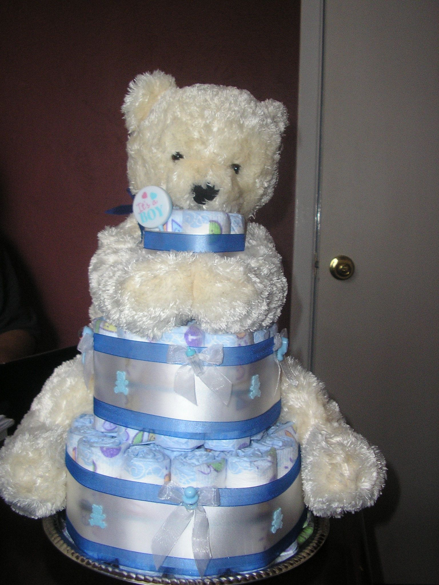 Diaper Cake Decor : Diaper Cakes and Cup Cakes   YOUR DECORATIONS ...